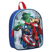Marvel rugzak Avengers 3D junior 9 liter polyester blauw/rood