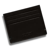 Dal Negro pashouder Rfid 10 x 7,8 cm leer zwart