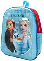 Frozen rugzak meisjes 9 liter polyester blauw/rood