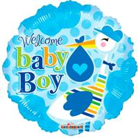 DeBallonnensite Baby stork boy