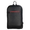 Hama Manchester 17.3 Backpack Black - Notebook Cases (Backpack, 43.9 cm (17.3), Shoulder strap, 731 g, Black)