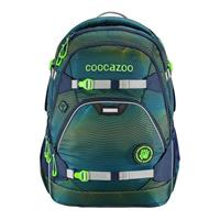 Rugzak Coocazoo Polyester Soniclights Green