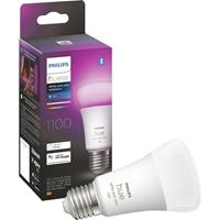 Philips Lighting Hue 871951429117100 LED-lamp Energielabel: F (A - G) Hue White & Col. Amb. E27 Einzelpack 800lm 75W E27 9 W Warmwit tot koudwit