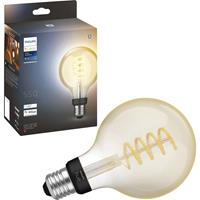Philips Lighting Hue 871951430148100 LED-lamp Energielabel: G (A - G) Hue White Ambiance E27 Einzelpack Globe G93 Filament 300lm E27 7 W Warmwit tot koudwit