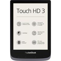 PocketBook Touch HD 3 metallic grey eBook-reader 15.2 cm (6 inch) Grijs metallic