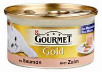 GOURMET Gold blik mousse zalm 85 gram
