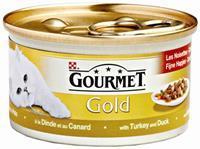 GOURMET Gold Kalkoen & Eend 85g Kattenvoer