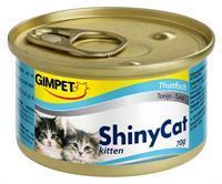 GIMPET ShinyCat Kitten in Jelly - Tonijn - 24 x 70 gram