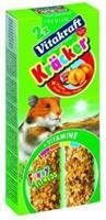 Vitakraft Hamster Fruitkracker 2in1 Knaagdiersnacks