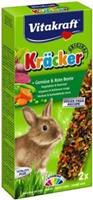 Vitakraft Kräcker Dwergkonijn Groenten/Thym Knaagdiersnacks