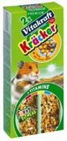 Vitakraft Hamster Honingkracker 2 in 1 Knaagdiersnacks
