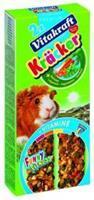 Vitakraft Cavia Groente kracker 2in1 Knaagdiersnacks