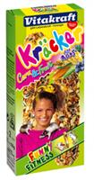 Vitakraft Ratten Corn&Fruitkracker 2in1 Knaagdiersnacks