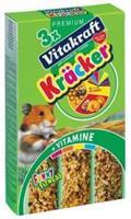 Vitakraft Kräcker Trio-Mix Hamster - Honing, Noot & Fruit