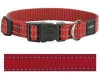 ROGZ FOR DOGS Hondenhalsband Utility Rood