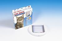 catmate 210 Kattenluik Wit (Glas/Dunne deuren) Kattenluik