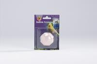 Beeztees Piksteen - vogel verzorgen - 5x5x3 cm - Roze