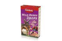 sanal Wild Berry Drops - Knaagdiersnack - 45 g