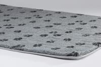 Beeztees Voetprint - Vetbed - Grijs - 49x36cm