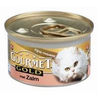 Gourmet Gold Mousse Zalm 85g Kattenvoer