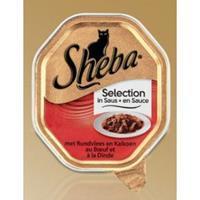 Sheba Selection Rund en Kalkoen in Saus Per 22