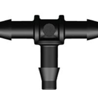 AquaForte Koppelstukken voor 4 mm luchtslang - T-stuk