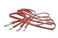 Beeztees Geniet - Looplijnen - Rood - 1 meter - 16 mm