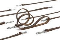 Beeztees Geniet - Looplijnen - Bruin - 1,30 meter - 12 mm