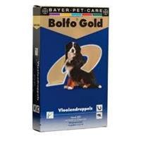 Bolfo Gold Druppels Hond >25 Kg 400 4 Ml (2x4ml)