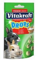 Vitakraft Yoghurtdrops Dwergkonijn 75g Knaagdiersnacks