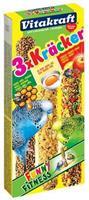 Vitakraft Kräcker Parkiet Honing/Fruit/Ei Vogelsnacks
