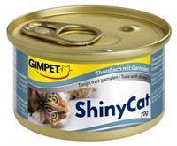 GIMPET ShinyCat in Jelly - Tonijn met Garnalen - 24 x 70 gram