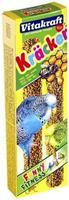 Vitakraft Kräcker Parkiet Honing 2in1 Vogelsnacks