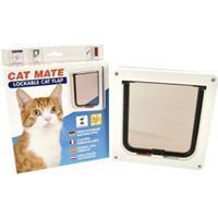 Cat Mate 304W - Kattenluik & Kattendeuren - 192x200 mm - Wit