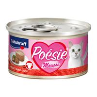 vitakraft Poesie Mousse 85 gram Rund Kattenvoer