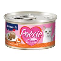 vitakraft Poesie Mousse 85 gram Eend Kattenvoer