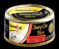 gimcat ShinyCat Filet - Tonijn met Zalm - 24 x 70 gram