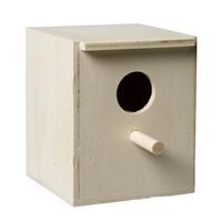 fauna Pet products houten broedkastje met gat