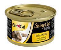 gimcat ShinyCat in Jelly - Tonijn met Kaas - 24 x 70 gram