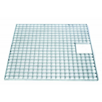 Afdekrooster vierkant - 140 x 140 cm