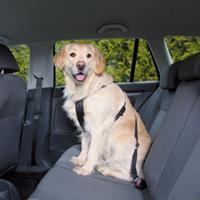 trixie Wandel- en Autoharnas met Gordel voor de hond M