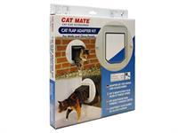 CATMATE Adapter Kit - Kattenluik & Kattendeuren - Wit - 610gram