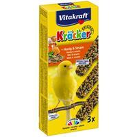 Vitakraft Kräcker Kanarie Honing 3x Vogelsnacks