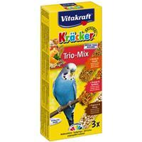 Vitakraft Kräcker Parkiet Honing/Sinaasappel/Popfit Vogelsnacks