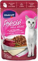 vitakraft Poesie Delisauce Hart 85g Kattenvoer