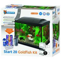 superfish Aquarium Start 20 Goldfish Kit Led 20 l - Aquaria - Zwart
