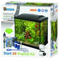 superfish Aquarium Start 50 Tropical Kit Retro Led 50 l - Aquaria - Zwart