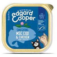 Edgard-cooper Vers Kattenvoer Kip - Kabeljauw 85 gr