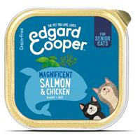 Edgard-cooper Vers Senior Kattenvoer Kip - Zalm 85 gr