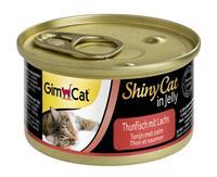 GIMCAT shinycat in jelly tonijn / zalm